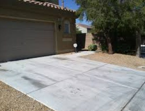 How to remove oil stains on driveways