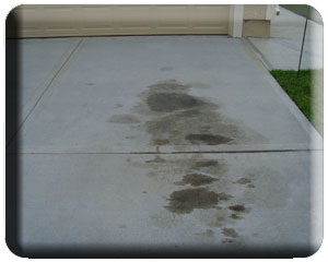Oil Stain Removal Services
