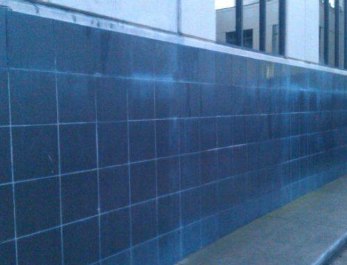 Salt Deposit (efflorescence) Removal from Internal Brick Walls