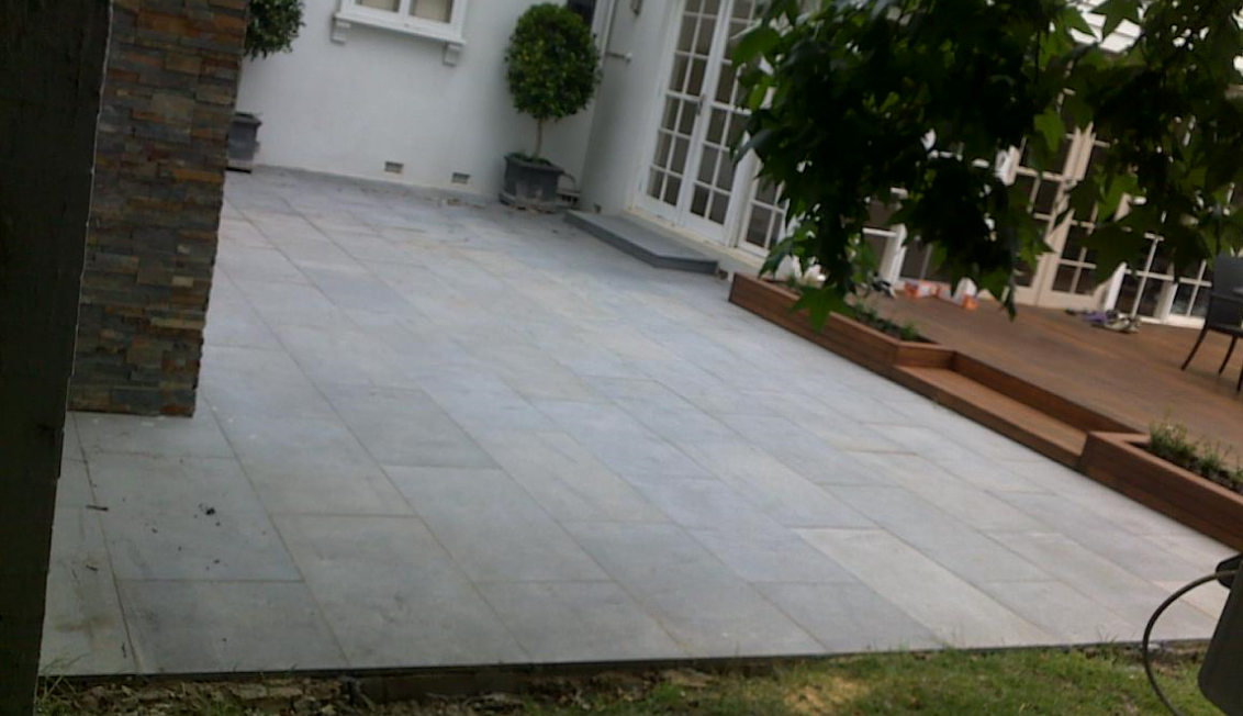 Removing Stains From Delicate Bluestone Tiles The Stain Eaters