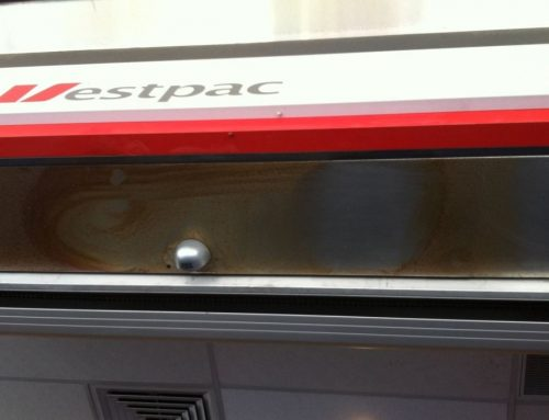 Surface Rust Removal from Stainless Steel – Westpac, Sydney