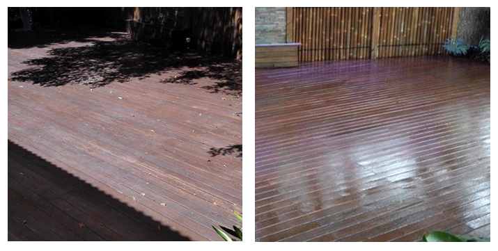 faded deck restoration