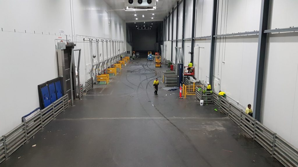 commercial cool room cleaning