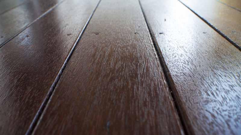 leaching of merbau timber deck