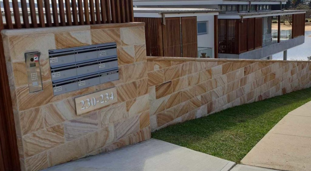 protective coating for sandstone wall