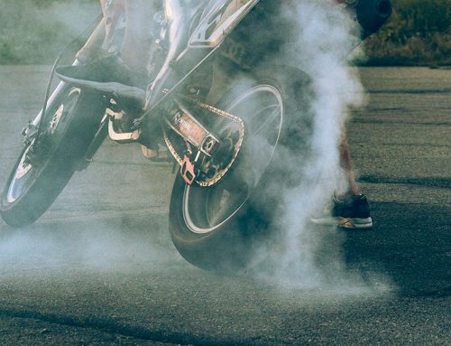 Burn Out Tyre Marks