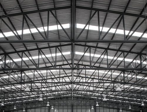 Cleaning Factory Skylights