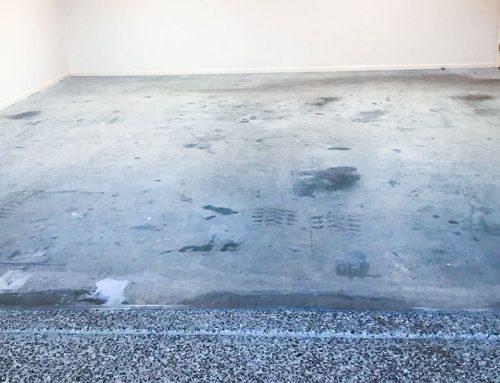 Messy Garage Floors