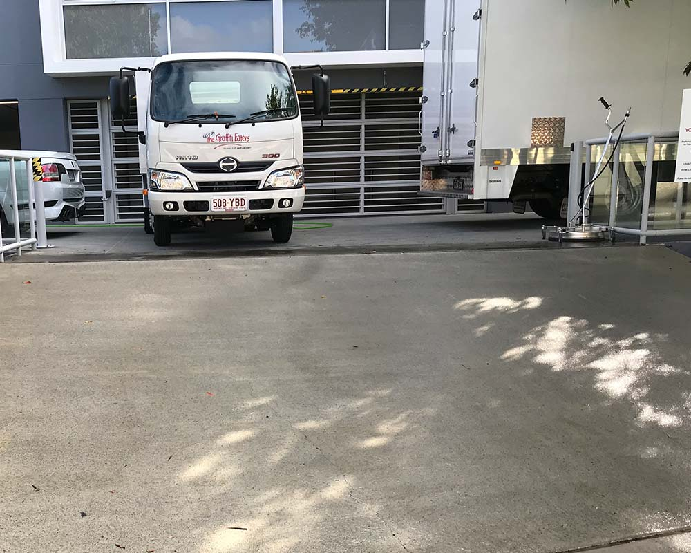 carpark pressure cleaning services