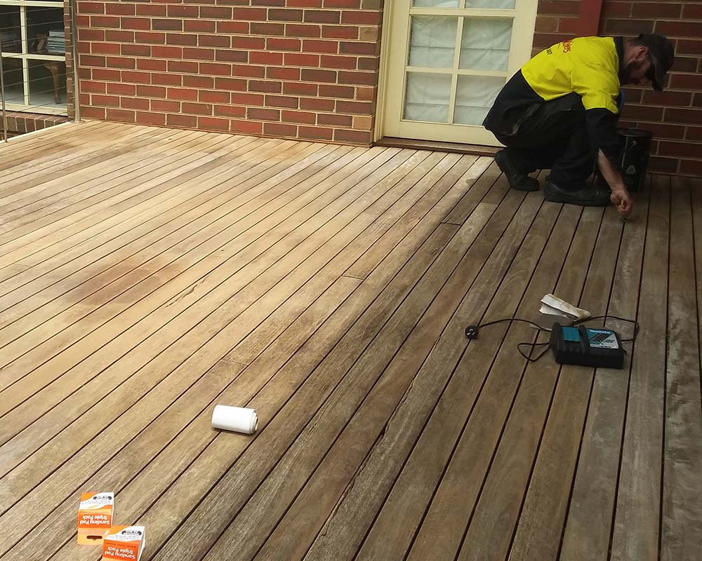 timber deck restoration services