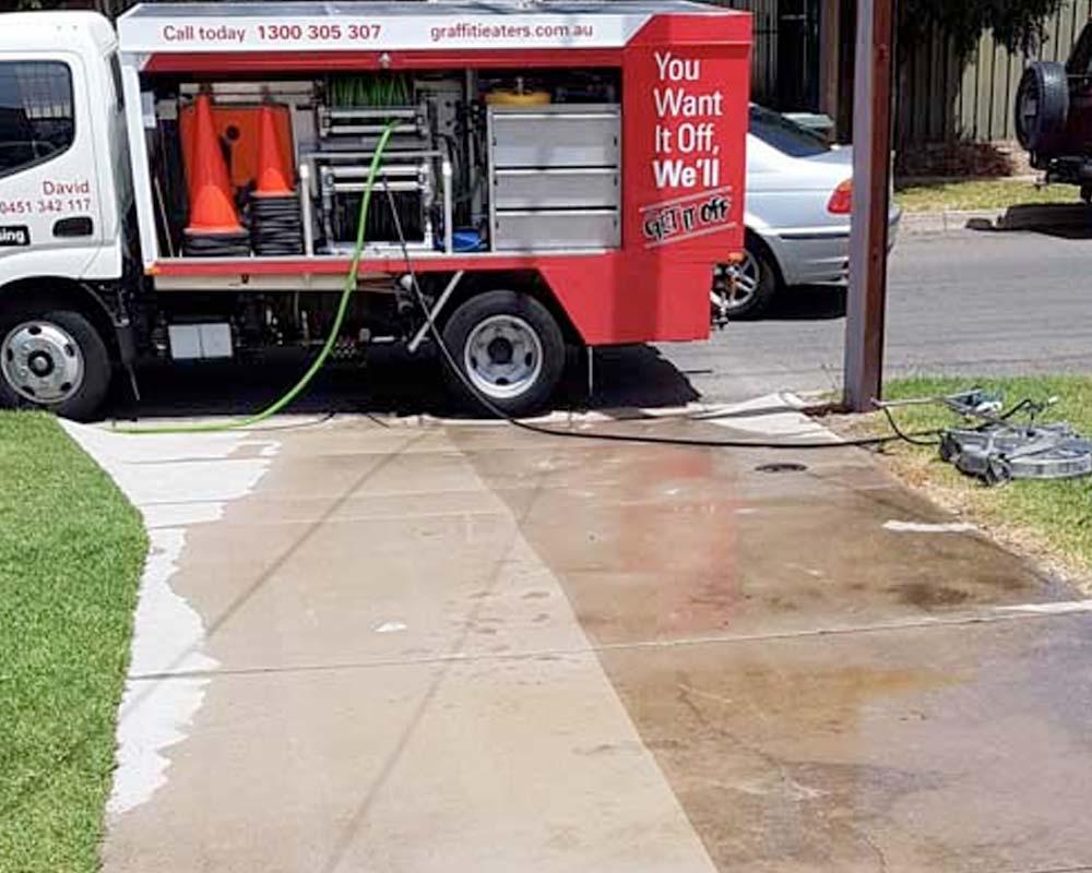 driveway washing
