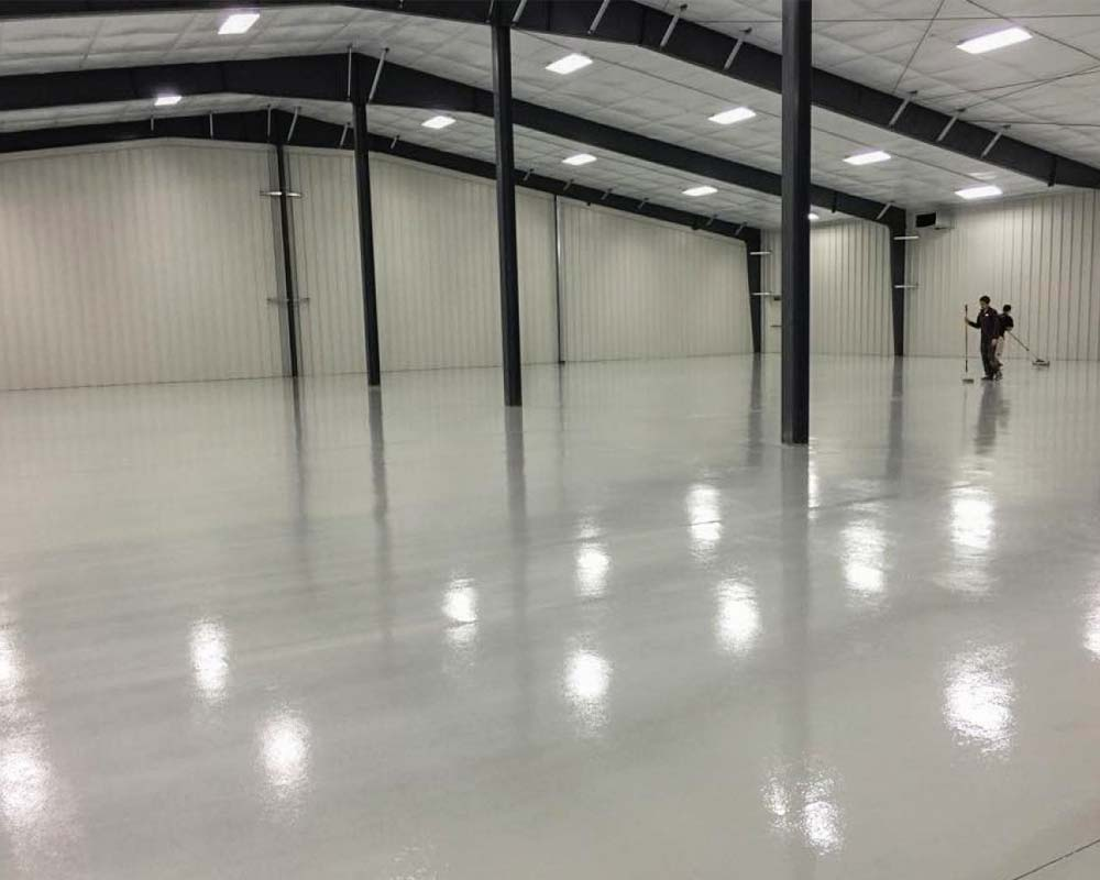 warehouse floor sealing