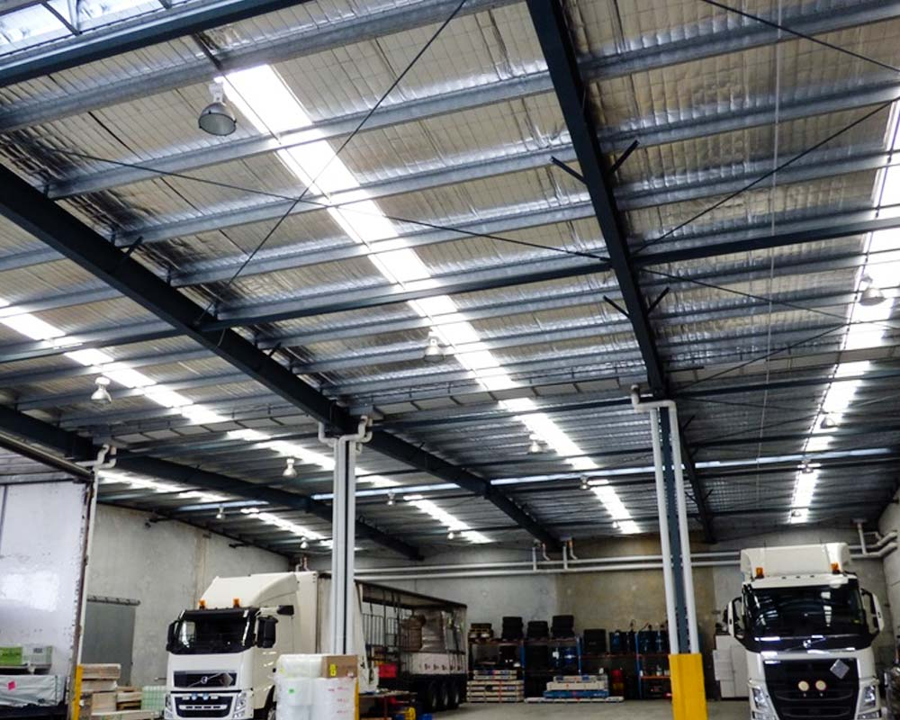 warehouse skylight cleaning