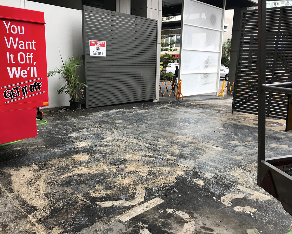 oil stain removal sydney