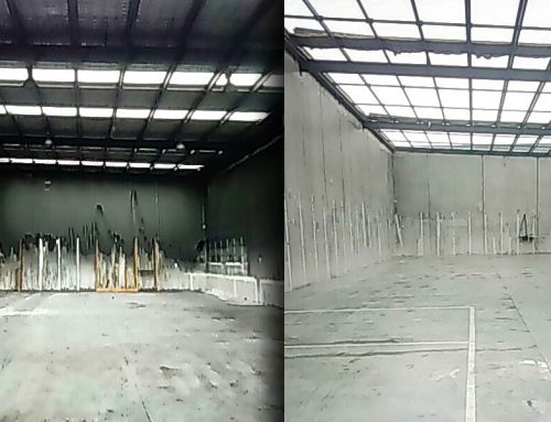 Fire Damage Soot Clean Up